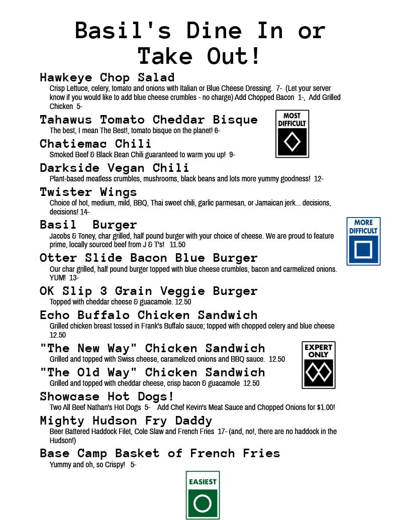 Dine-In-or-take-outMenu